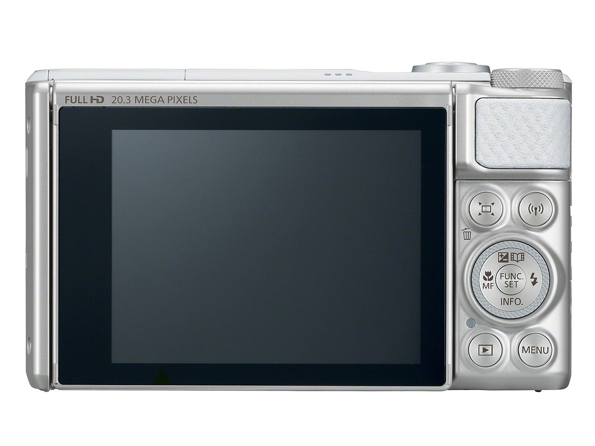 PowerShot SX730 HS display